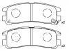 Brake Pad Set:MB 857 336