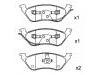 Brake Pad Set:05019805AA